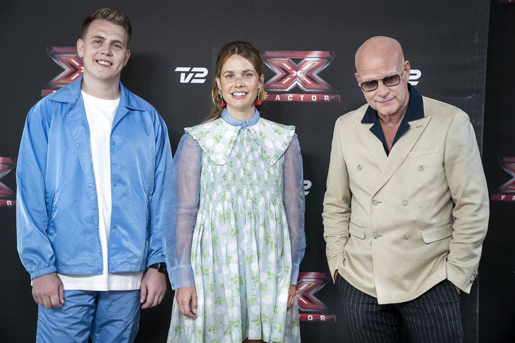 de tre dommere i X Factor