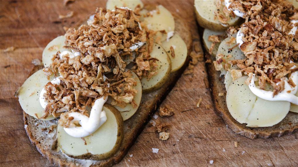 billede af to kartoffelmadder