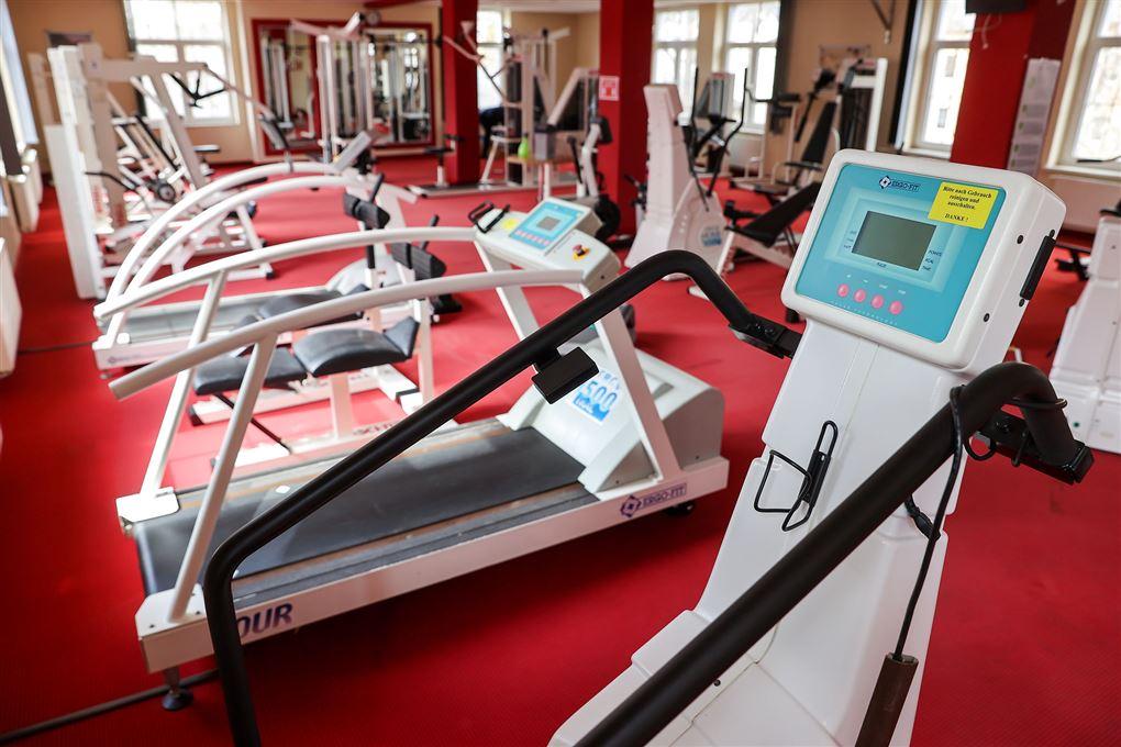 fitnesscenter uden mennesker