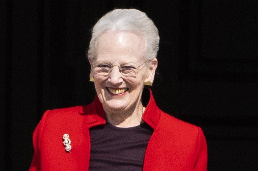 En smilende dronning Margrethe