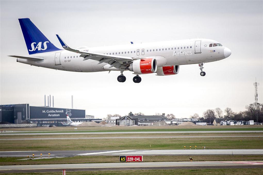 SAS fly letter