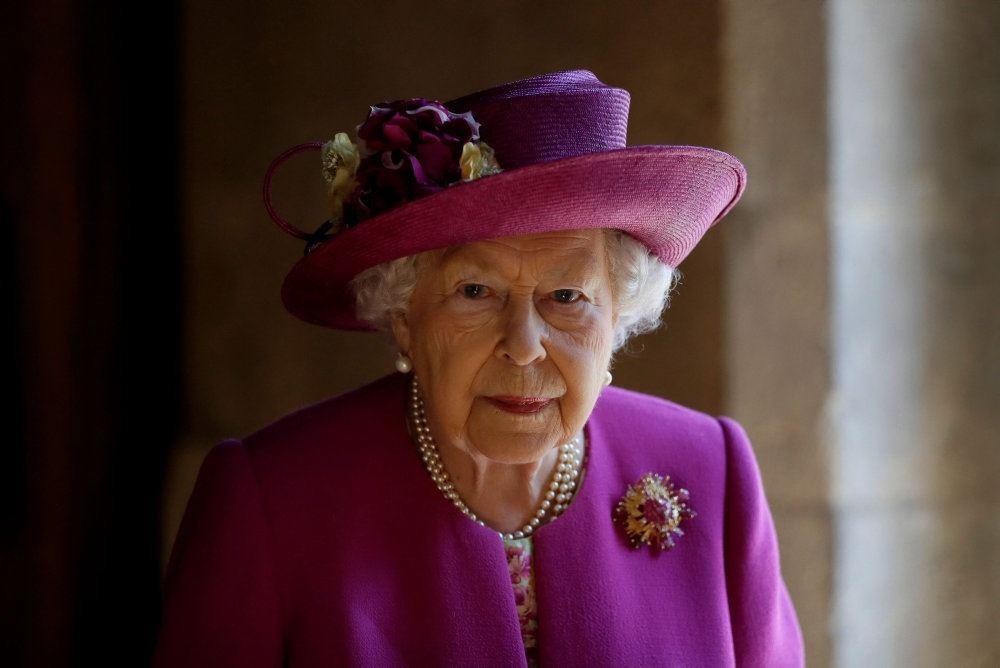 Portræt Dronning Elizabeth
