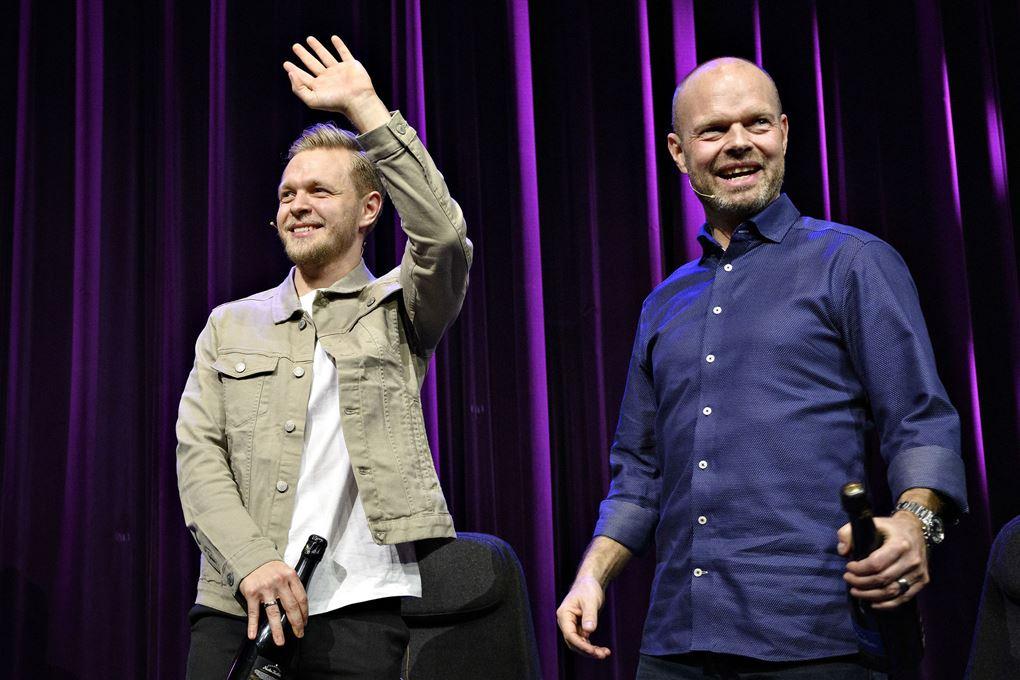billede af Kevin og Jan Magnussen