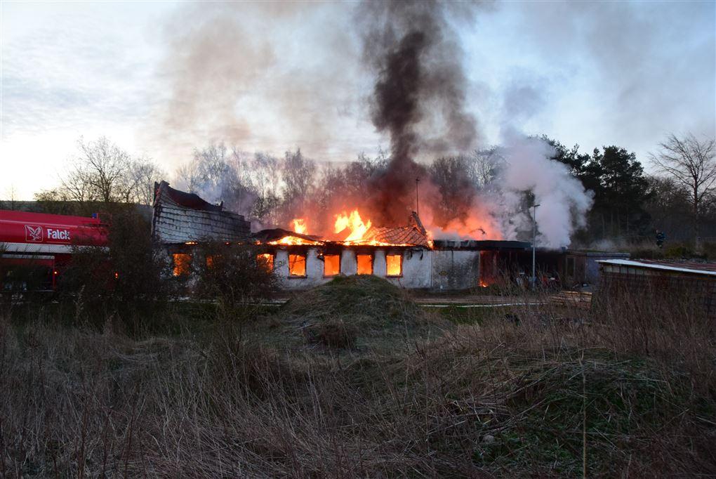 flammer har godt fat i ejendommen