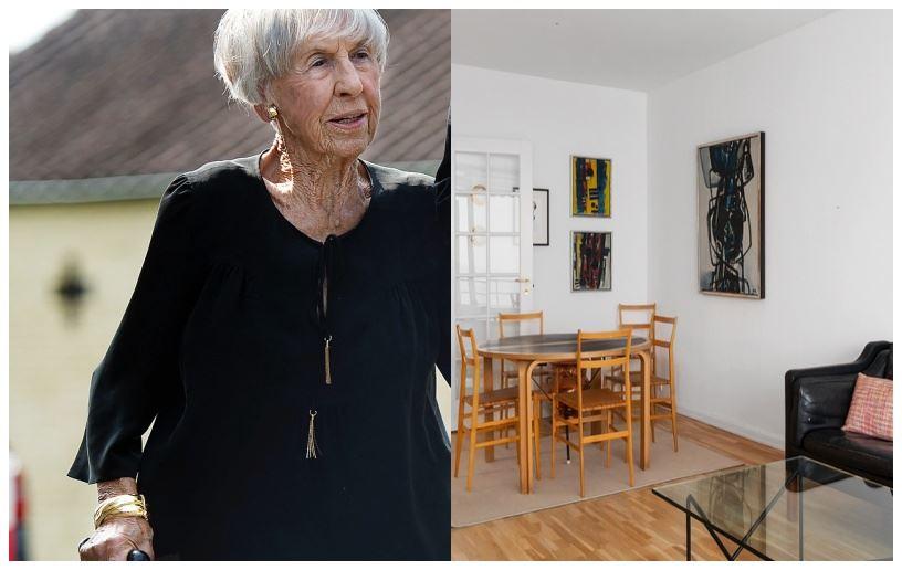 Lise Nørgaard og en stue