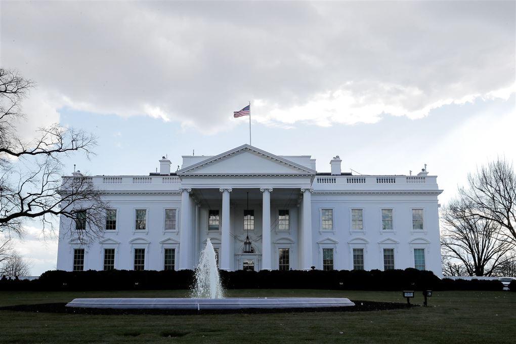 det hvide hus set udefra