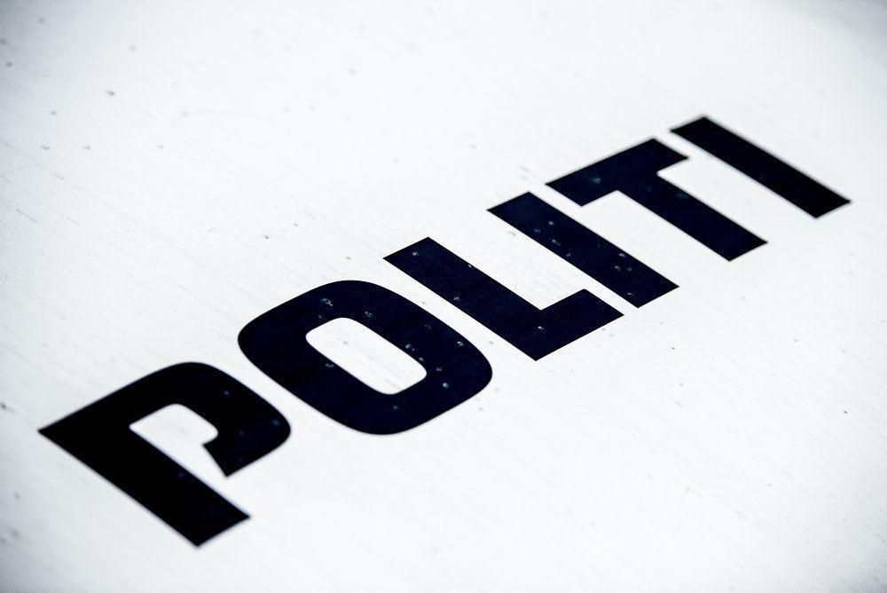 Politi-skilt