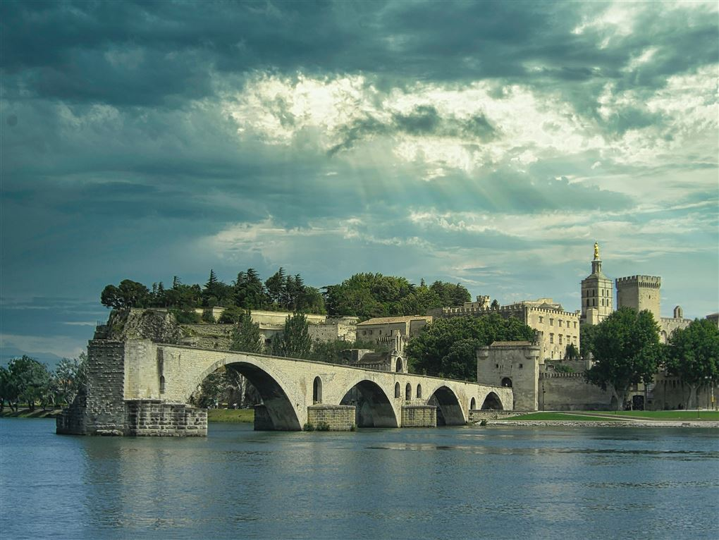 billede fra Avignong