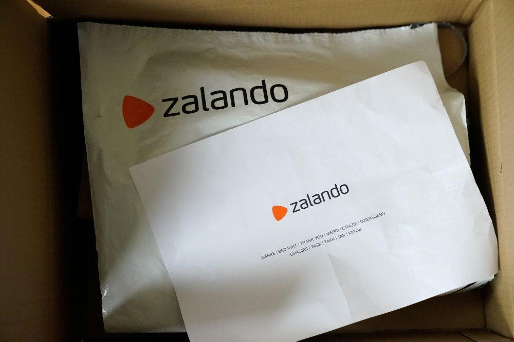 en pakke fra Zalando