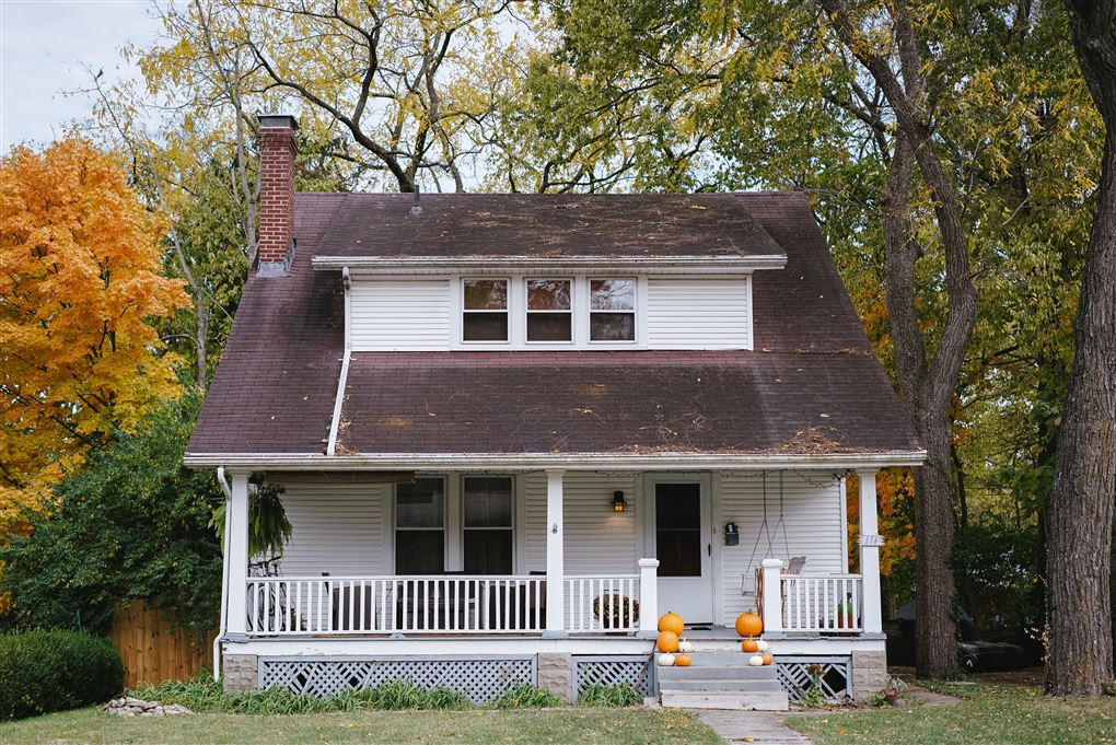 Et amerikansklignende hus