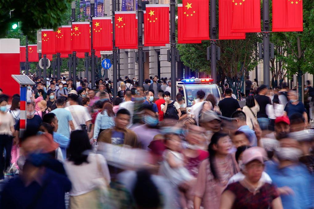 Gadebillede fra Kina