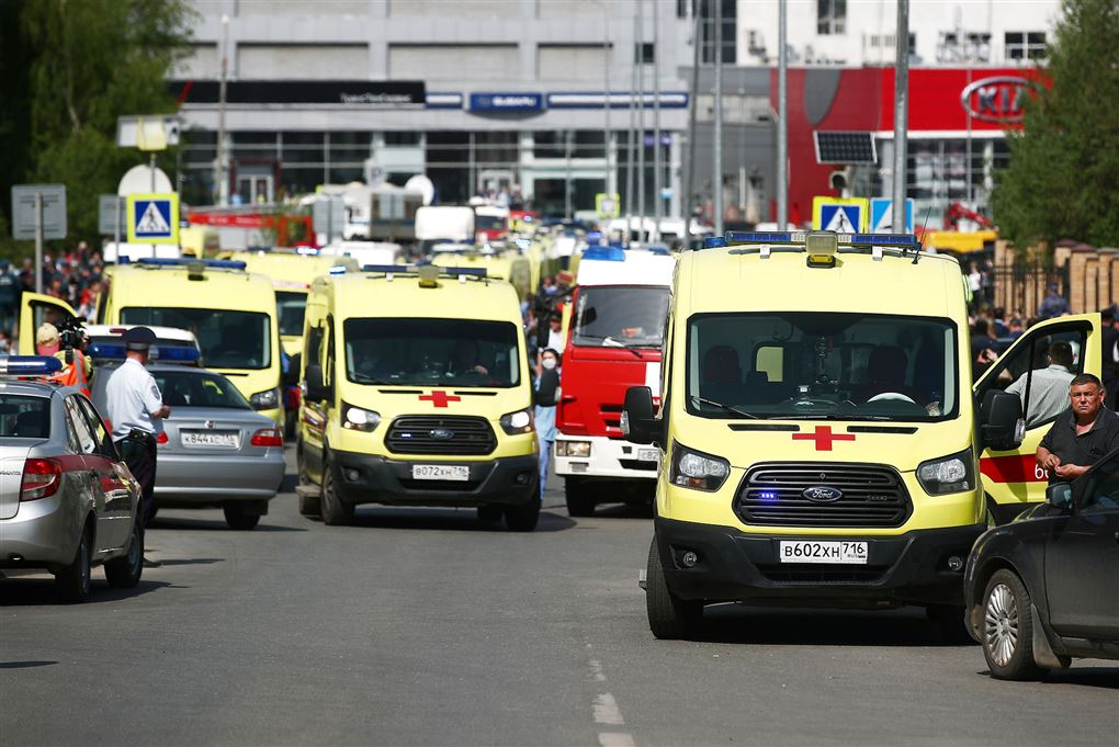 Ambulancer på gade