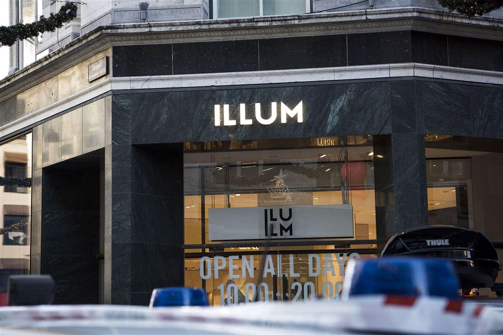 facade på stormagasinet Illum i København