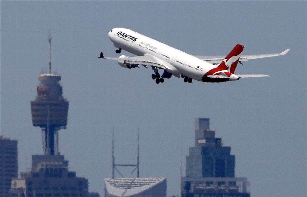 fly letter fra lufthavn i Sydney