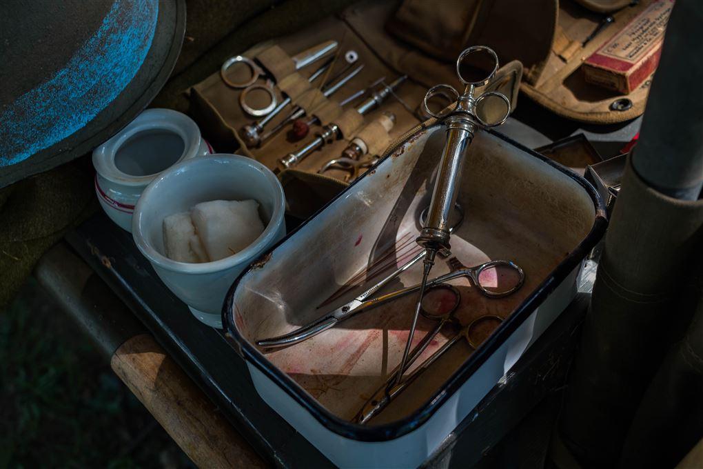 billede af kirurgiske redskaber