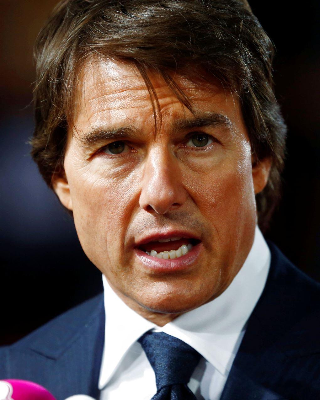 Tom Cruise ser sur ud