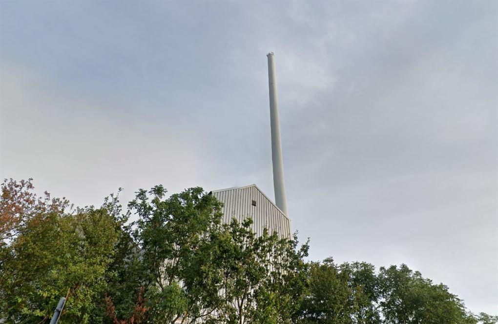 billede af skorstenen
