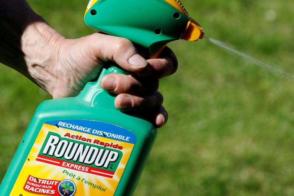 sprayflaske med roundup