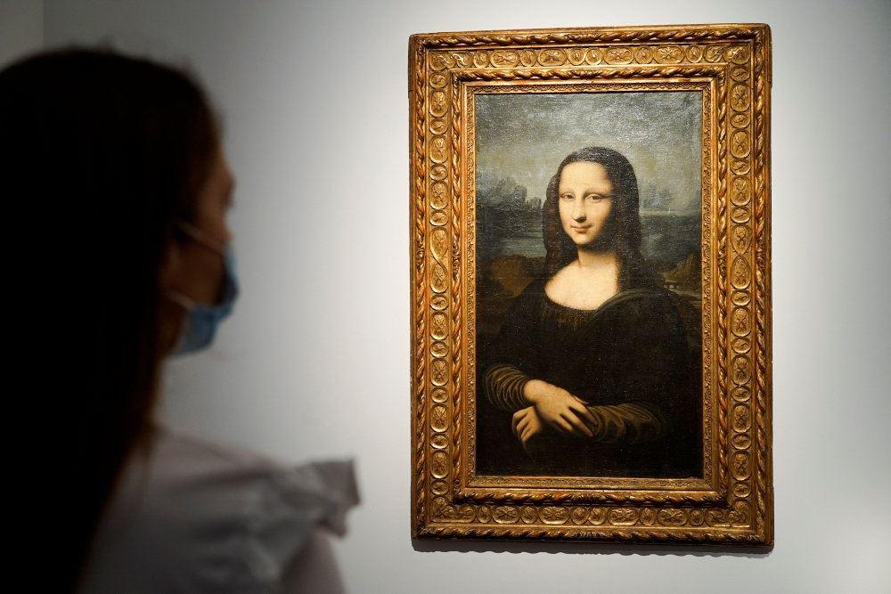 billede af den falske Mona Lisa