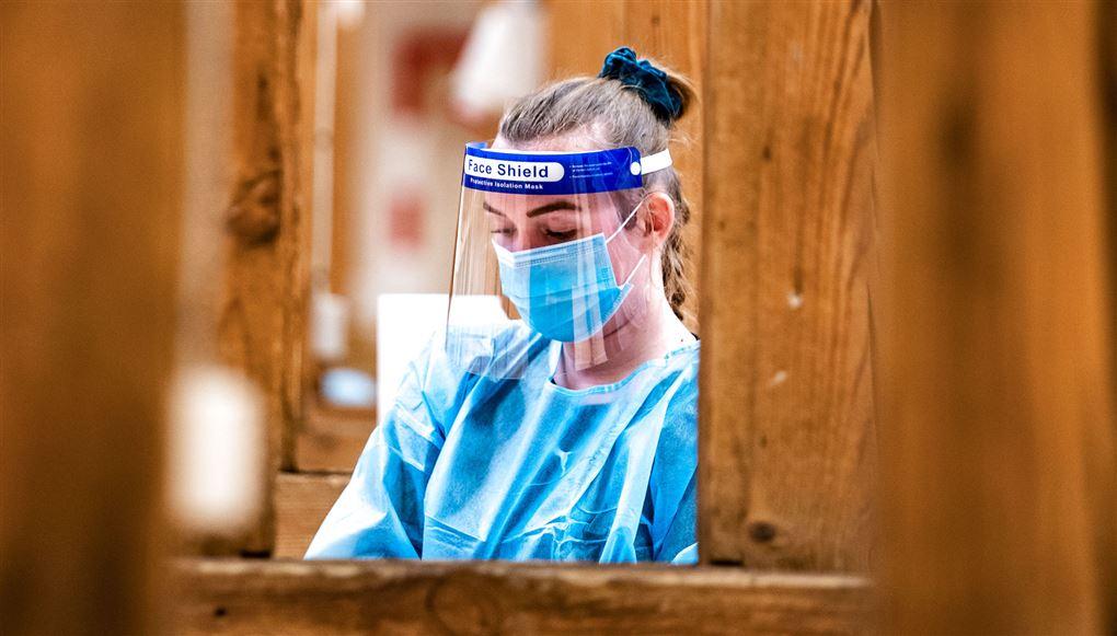 billede af en sundhedsperson