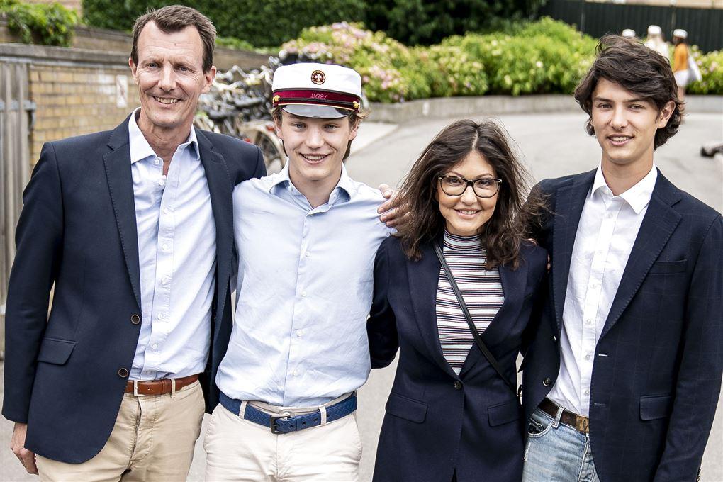 Prins Joachim, prins Felix, Alexandra og prins Nicolai