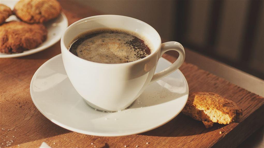 kaffe med kiks