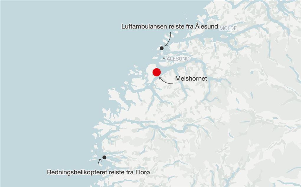 Et kort over Norge