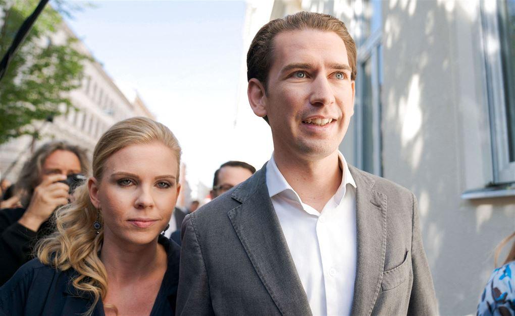 Sebastian Kurz og Susanne Thier