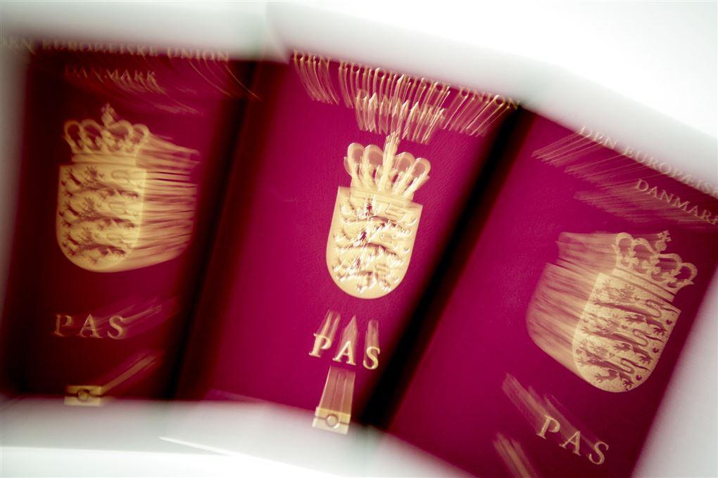 billede af pas