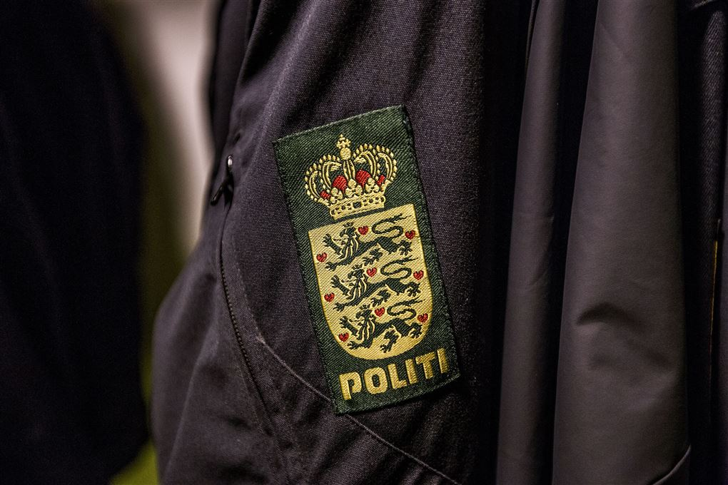 billede af et politiemblem