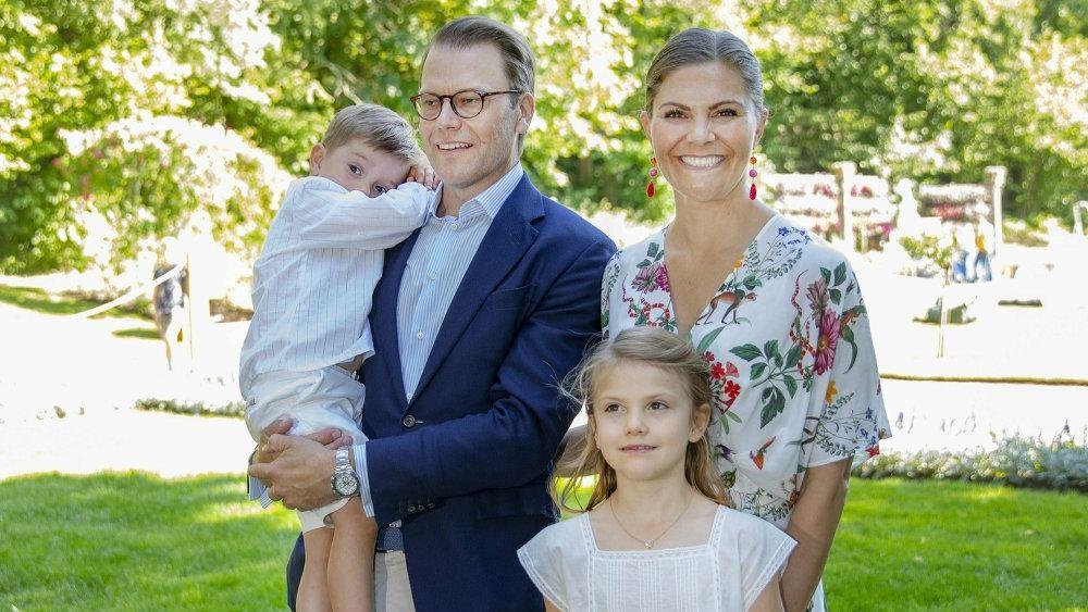 Victoria med familien
