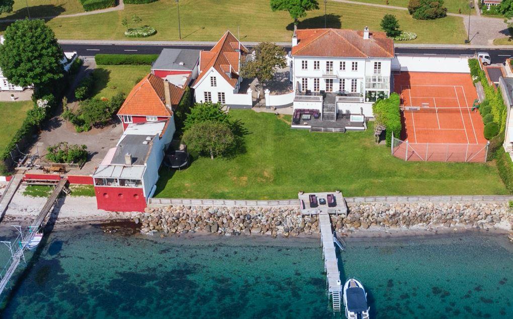 Et kæmpe hvidt hus ved Øresund