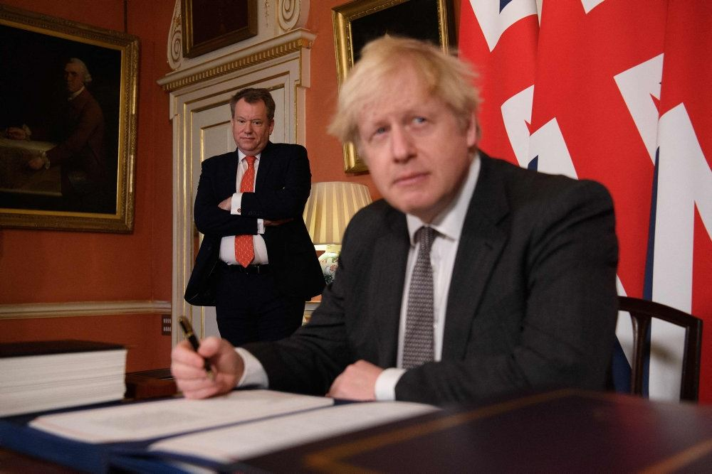 Boris Johnson ser forvirret ud