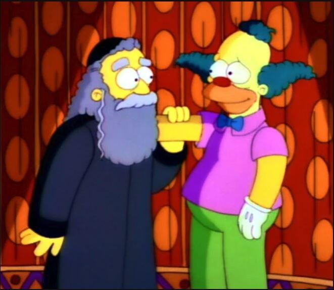 scene fra The Simpsons