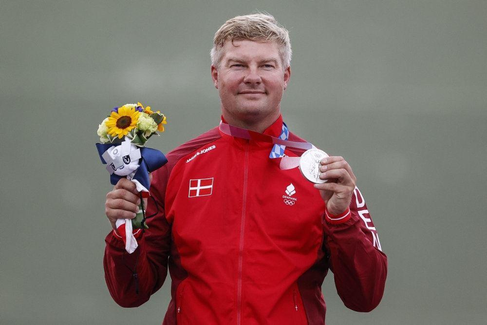 jesper Hansen med sølvmedalje