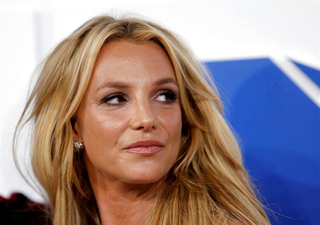 En blond kvinde