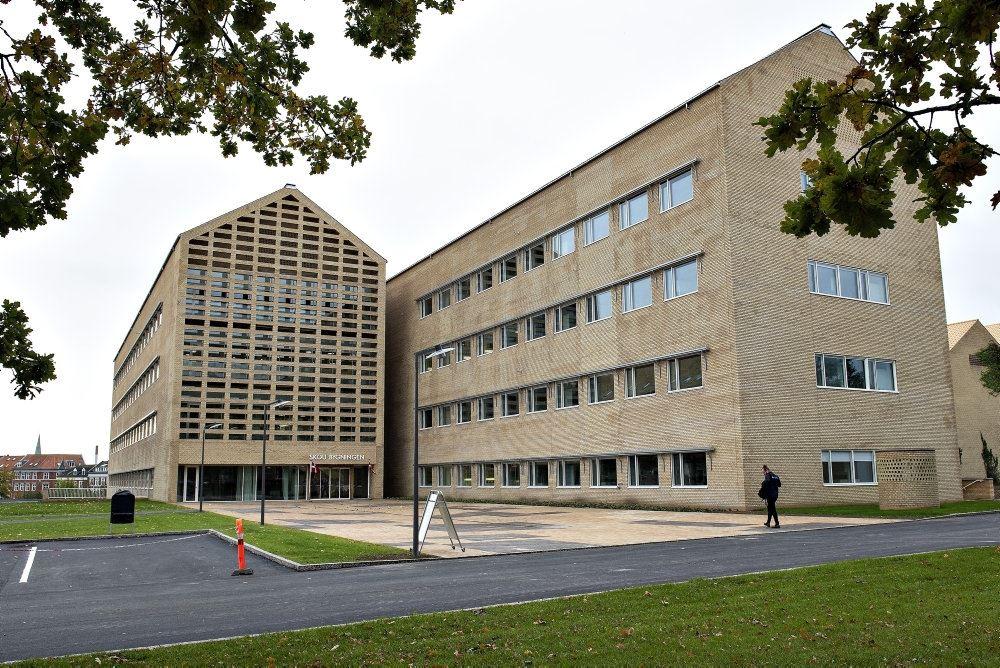 Aarhus Universitet set udefra