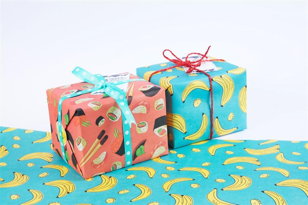 To indpakkede gaver