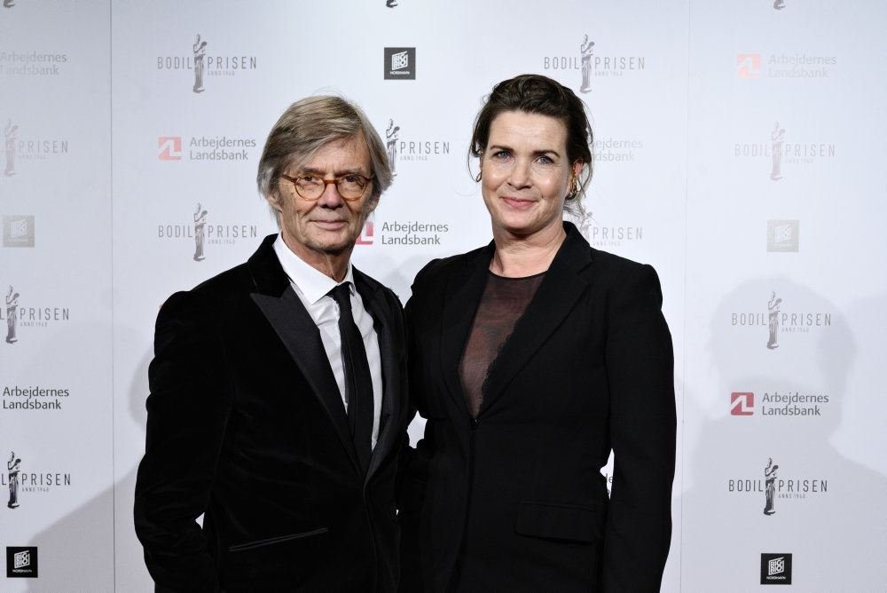Bille August og konen Sara-Marie Maltha poserer