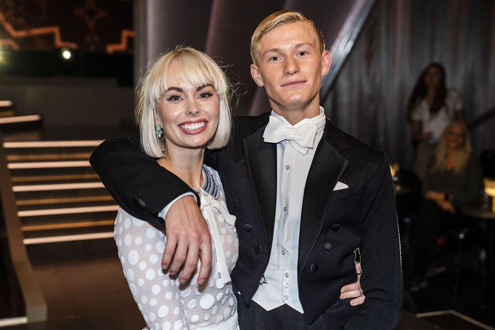Jenna Bagge og Albert Rosin Harson