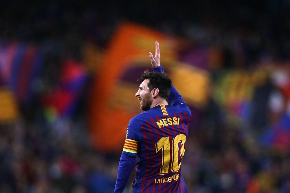Messi på banen