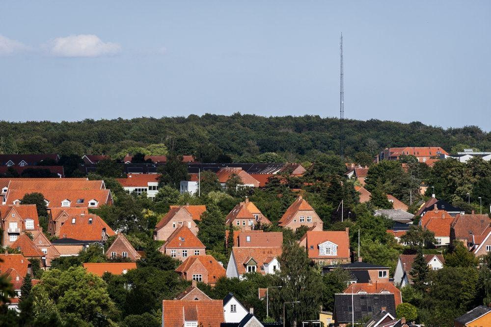 En række huse