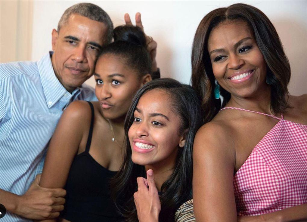Fire glade mennesker