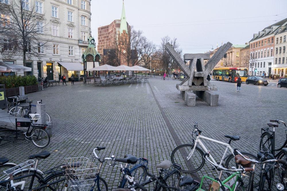 et stort torv i København