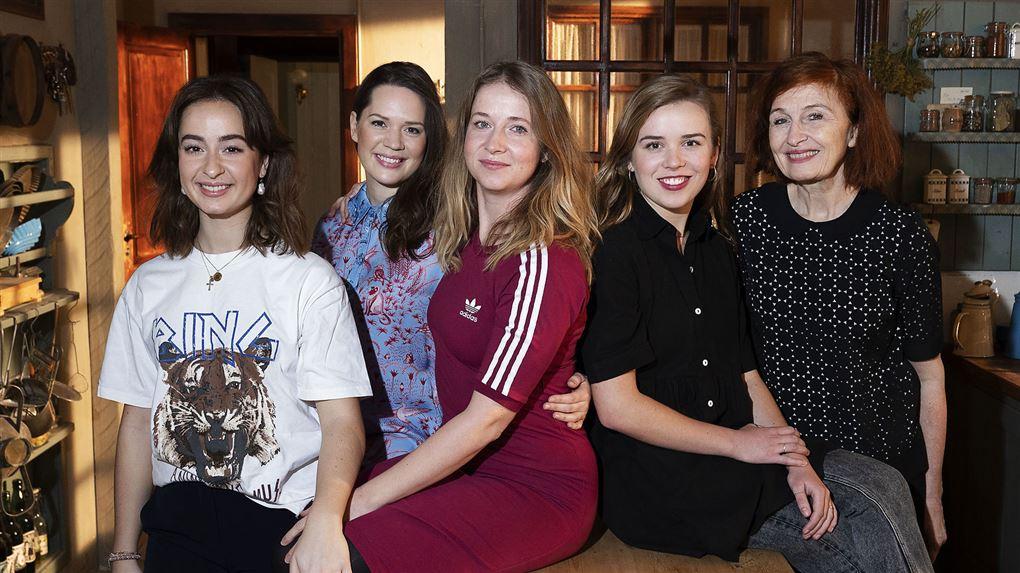Amalie Dollerup og flere af kollegaerne