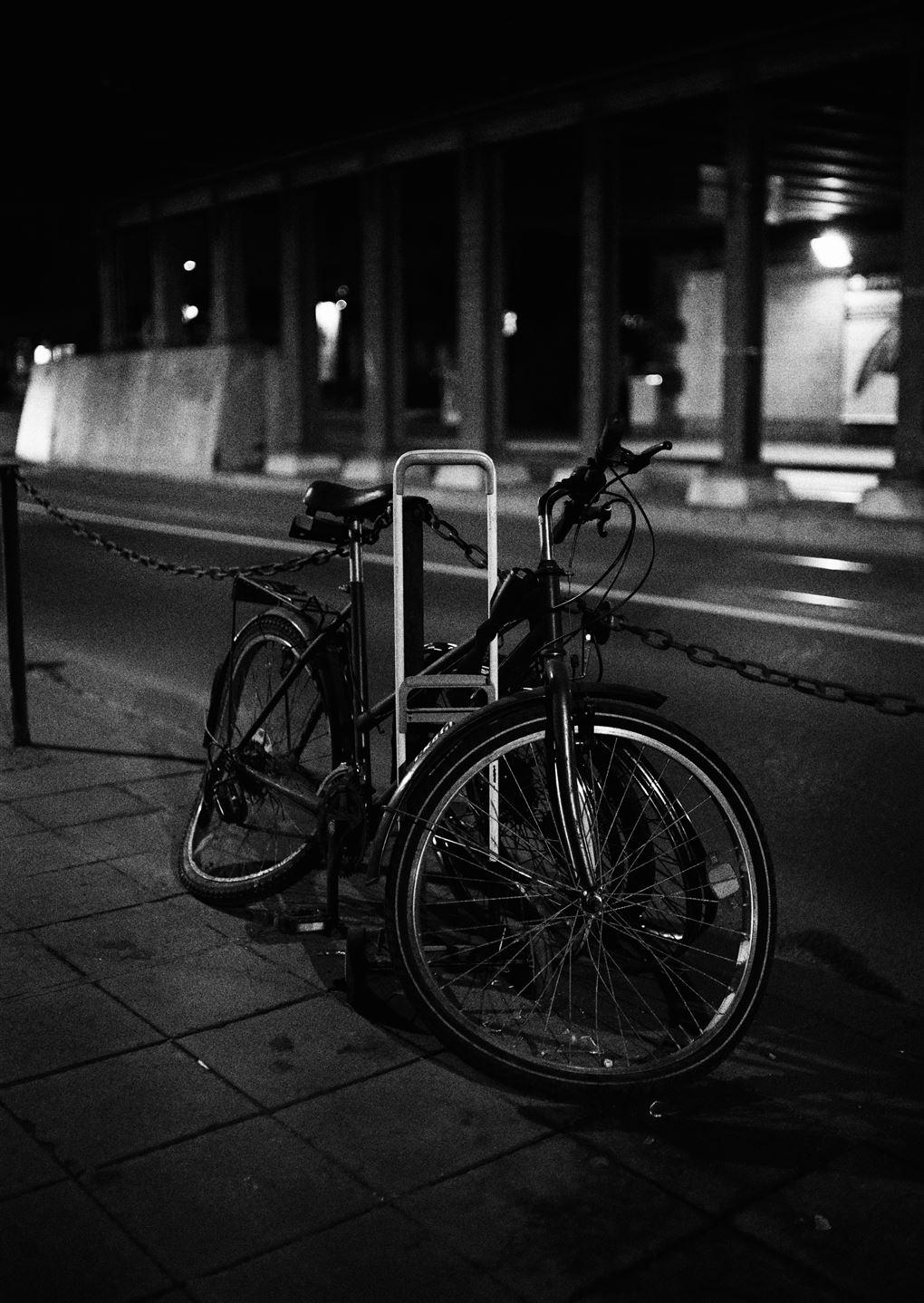 en ødelagt cykel
