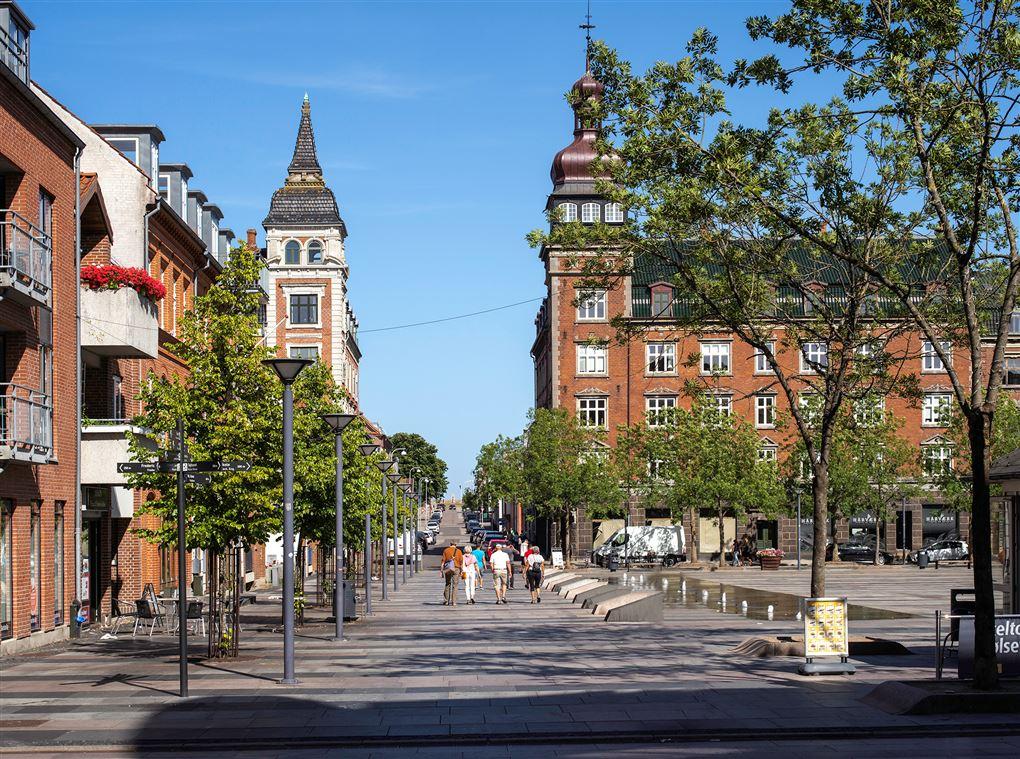 en gade i Fredericia