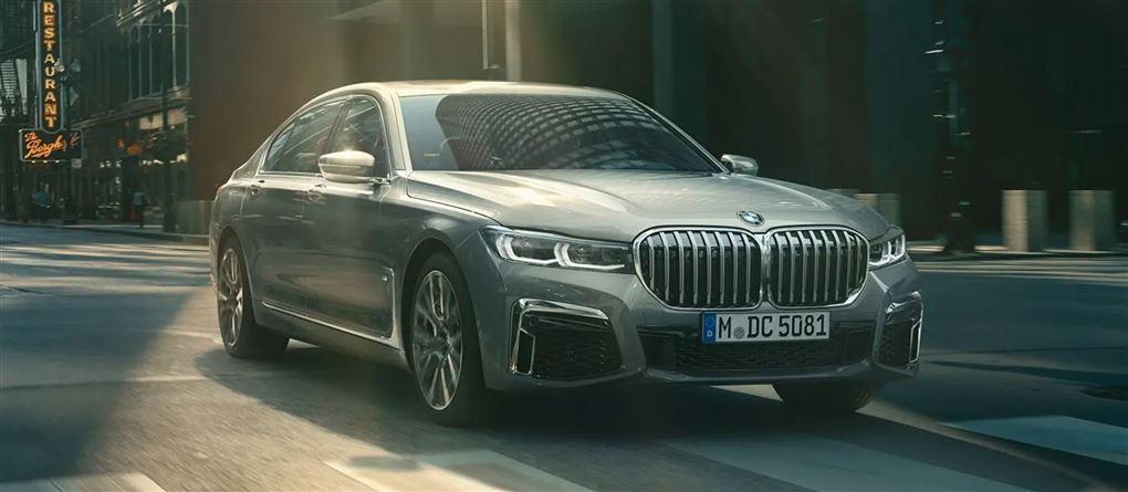 En stor BMW