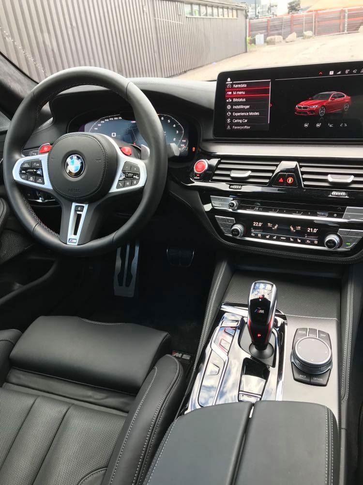 Et BMW-interiør