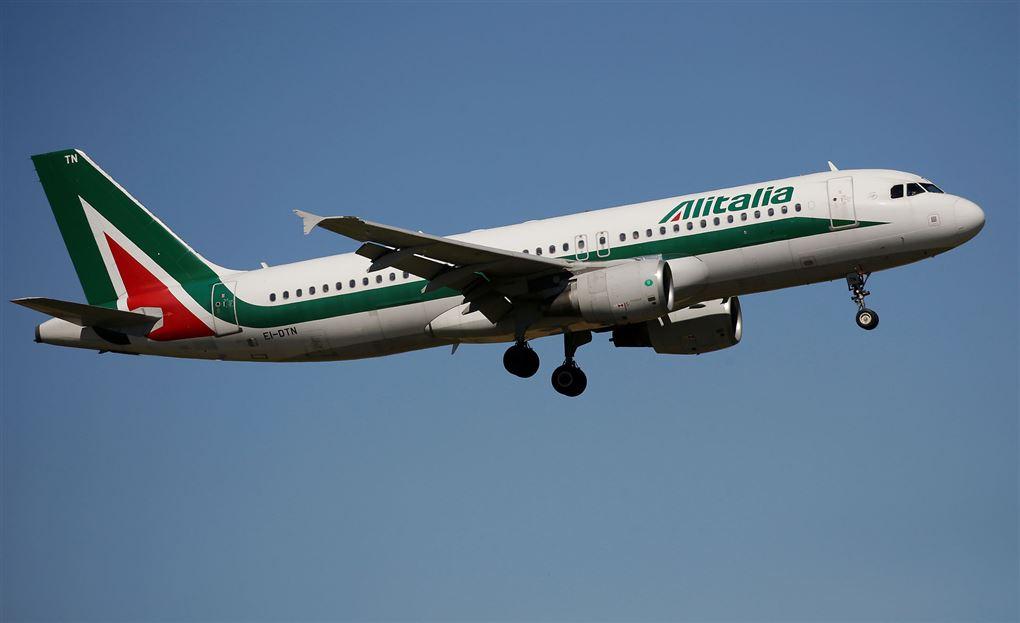 Et rutefly i luften